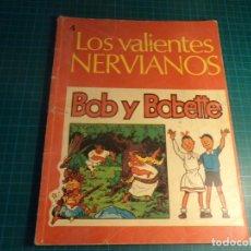 Tebeos: BOB Y BOBETTE. N°4. EDISVEN PRIMERA EDICION. CON SEÑALES DE USO.(M-12). Lote 272089413