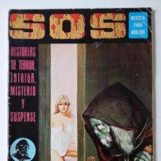 Livros de Banda Desenhada: COMIC SOS Nº 23 HISTORIAS DE TERROR INTRIGA MISTERIO Y SUSPENSE. Lote 272486968