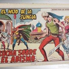 Livros de Banda Desenhada: EL HIJO DE LA JUNGLA Nº 81 / VALENCIANA ORIGINAL. Lote 273388788