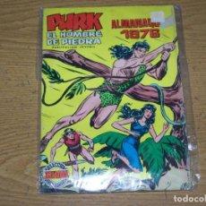Livros de Banda Desenhada: PURK EL HOMBRE DE PIEDRA VERTICAL COLOR ALMANAQUE 1976. Lote 273472138
