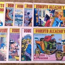 Tebeos: ROBERTO ALCAZAR Y PEDRIN Nº 792, 835, 837, 841, 871, 872, 893, 906, 952 Y 134 (VALENCIANA 1967/78). Lote 243331160