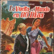 Tebeos: JULIO VERNE : LA VUELTA AL MUNDO EN 80 DÍAS (SELECCIÓN AVENTURAS VALENCIANA, 1960). Lote 273989658