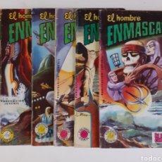 Tebeos: EL HOMBRE ENMASCARADO. 6 NUMEROS: 6, 7, 12, 20, 23, 27. COLOSOS DEL COMIC. ED. VALENCIANA, 1979. Lote 275575218