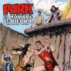 Tebeos: PURK EL HOMBRE DE PIEDRA-SELECCIÓN AVENTURERA- Nº 75 -EL REY TORNÓN-1976-DIFÍCIL-BUENO-LEA-5117. Lote 275589013