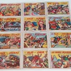 Tebeos: LOTE TEBEOS EL GUERRERO DEL ANTIFAZ ORIGINALES ¡EN PERFECTO ESTADO! 1964. Lote 275755403