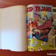 Tebeos: KID TEJANO COLOSOS DEL COMIC EDITORIAL VALENCIANA COMPLETA 34 Nº. EN UN TOMO. Lote 275852098