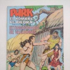 Tebeos: PURK EL HOMBRE DE PIEDRA/EXTRAORDINARIO DE VACACIONES.. Lote 275910278