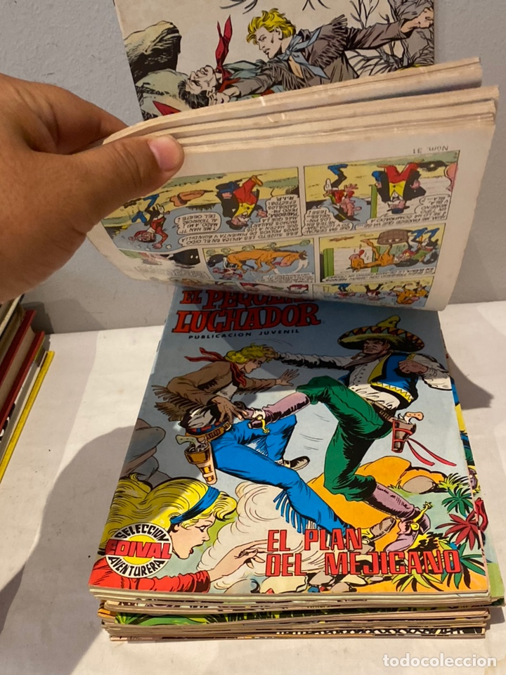Tebeos: Lote de 24 tebeos el pequeño Luchador. Editorial Valenciana, años 70. - Foto 3 - 276016618