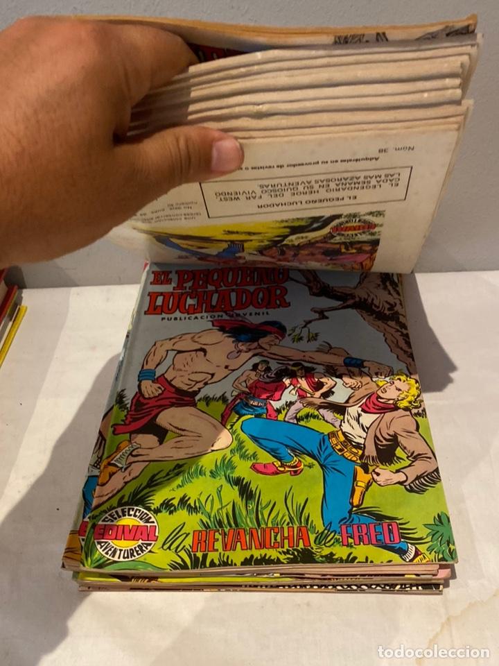 Tebeos: Lote de 24 tebeos el pequeño Luchador. Editorial Valenciana, años 70. - Foto 5 - 276016618