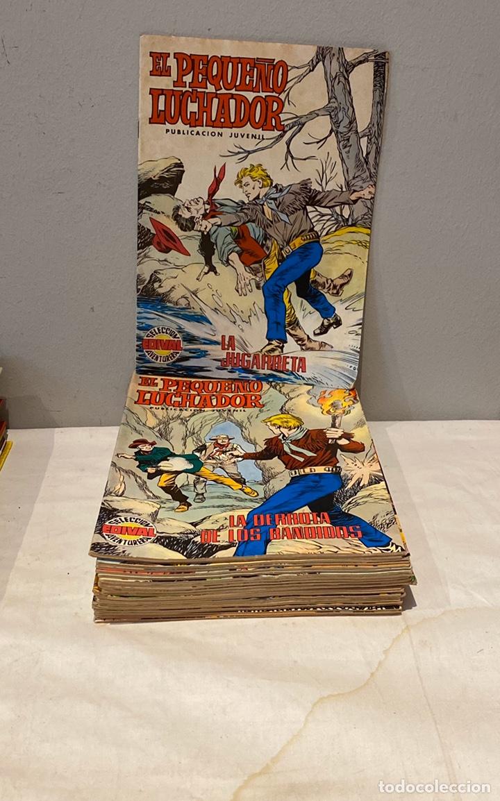 LOTE DE 24 TEBEOS EL PEQUEÑO LUCHADOR. EDITORIAL VALENCIANA, AÑOS 70. (Tebeos y Comics - Valenciana - Pequeño Luchador)