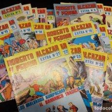 Tebeos: ROBERTO ALCAZAR Y PEDRIN / 2ª ÉPOCA / EXTRAS Nº 1 AL 24 / ( Nº 1 EN MAL ESTADO ). Lote 276029783