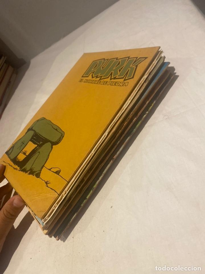 Tebeos: COLECCIÓN PURK EL HOMBRE DE PIEDRA COMPLETA. Encuaderno número 3 con 24 ejemplares de 51 A 75 . - Foto 2 - 276032258