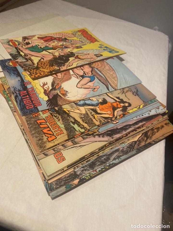 Tebeos: COLECCIÓN PURK EL HOMBRE DE PIEDRA COMPLETA. Encuaderno número 6 con 16 ejemplares de 101A114 más - Foto 8 - 276033423