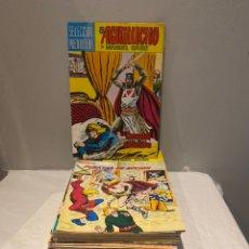 Tebeos: LOTE DE 40 PRIMEROS NÚMEROS SEGUIDOS DE EL AGUILUCHO. MANUEL GAGO. EDITORIAL VALENCIANA 1981-82. Lote 276035573