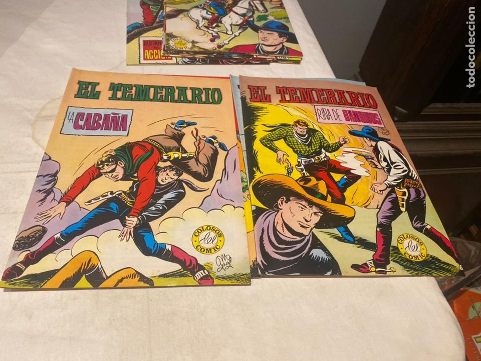 Tebeos: El Temerario. Colosos de Comic. Completa. 10 Ejemplares. Manuel Gago. tebeni Valenciana 1981. MBE - Foto 3 - 276036958