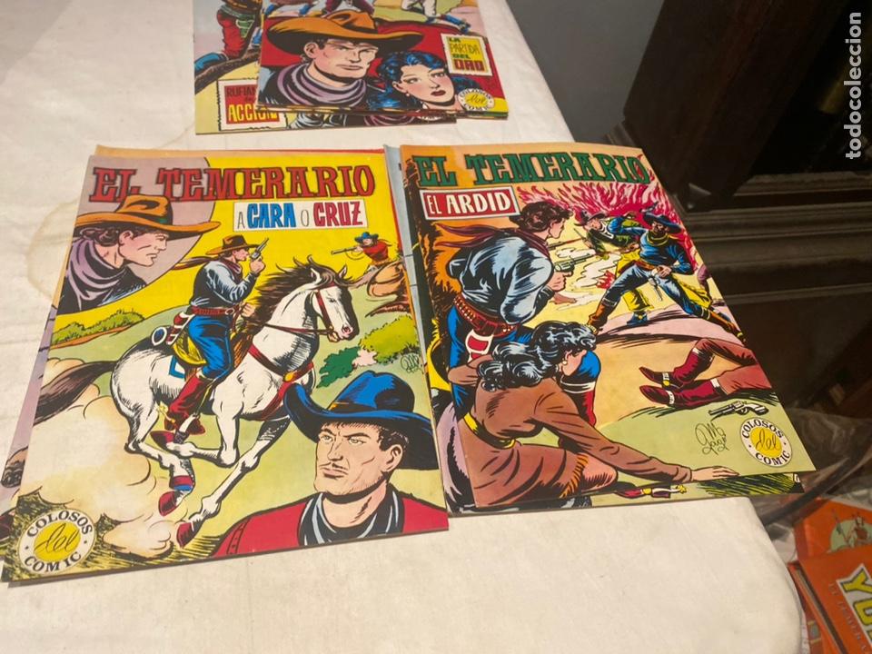 Tebeos: El Temerario. Colosos de Comic. Completa. 10 Ejemplares. Manuel Gago. tebeni Valenciana 1981. MBE - Foto 4 - 276036958