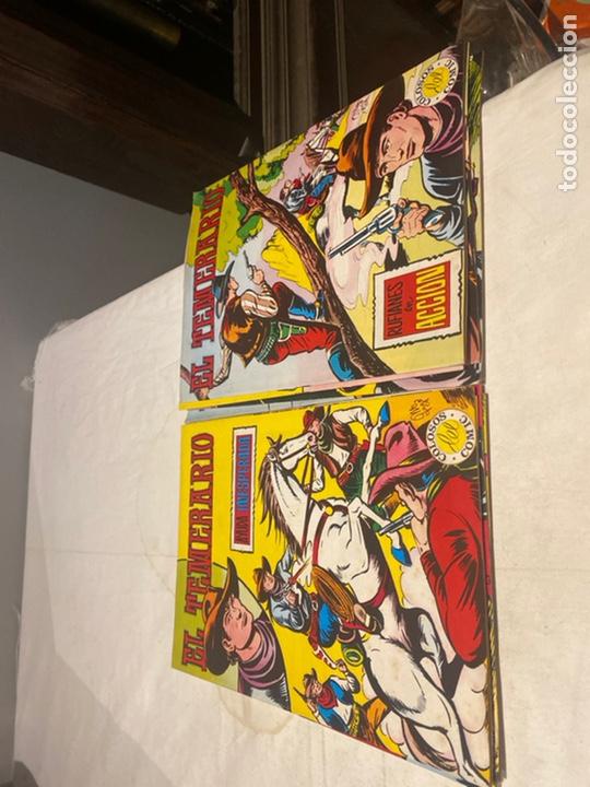 Tebeos: El Temerario. Colosos de Comic. Completa. 10 Ejemplares. Manuel Gago. tebeni Valenciana 1981. MBE - Foto 6 - 276036958