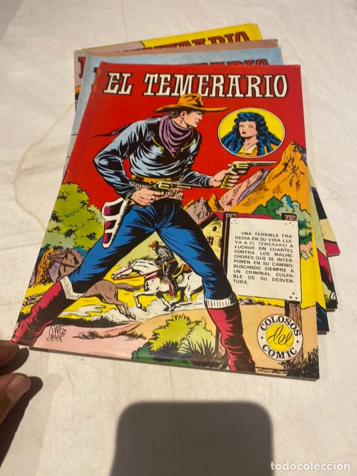 Tebeos: El Temerario. Colosos de Comic. Completa. 10 Ejemplares. Manuel Gago. tebeni Valenciana 1981. MBE - Foto 7 - 276036958