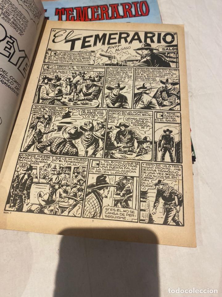 Tebeos: El Temerario. Colosos de Comic. Completa. 10 Ejemplares. Manuel Gago. tebeni Valenciana 1981. MBE - Foto 8 - 276036958