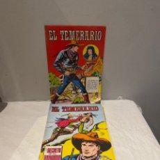 Tebeos: EL TEMERARIO. COLOSOS DE COMIC. COMPLETA. 10 EJEMPLARES. MANUEL GAGO. TEBENI VALENCIANA 1981. MBE. Lote 276036958