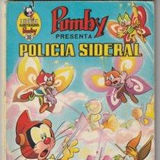 Tebeos: Nº 30 POLICIA SIDERAL LIBROS ILUSTRADONS PUMBY .VALENCIANA.. Lote 276135828