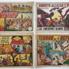 Tebeos: LOTE 7 COMICS ROBERTO ALCAZAR Y PEDRIN MIRAR BIEN LAS FOTOS PARA VER ESTADO, ALGUNA TAPA SUELTA. Lote 276167188