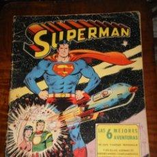 Tebeos: SUPERMAN - EL ORIGEN DE SUPERMAN LAS 6 MEJORES AVENTURAS - DITORIAL VALENCIANA 1975. Lote 276173298