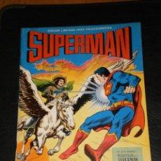 Tebeos: COMIC SUPERMAN - EL DESAFIO DE TERRA MAN - EDICION LIMITADA PARA COLECCIONISTAS – VALENCIANA 1978. Lote 276174058
