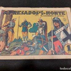 Livros de Banda Desenhada: EL GUERRERO DEL ANTIFAZ / 46 / APRESADOS EN EL MONTE / ORIGINAL / USO NORMAL DE LA ÉPOCA.. Lote 276187938
