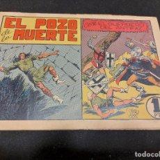 Livros de Banda Desenhada: EL GUERRERO DEL ANTIFAZ / 45 / EL POZO DE LA MUERTE / ORIGINAL / USO NORMAL DE LA ÉPOCA.. Lote 276188523