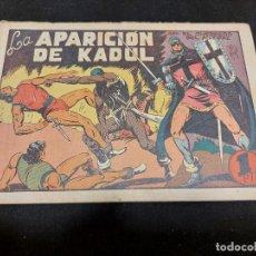 Livros de Banda Desenhada: EL GUERRERO DEL ANTIFAZ / 43 / LA APARICIÓN DE KADUL / ORIGINAL / USO NORMAL DE LA ÉPOCA.. Lote 276188793