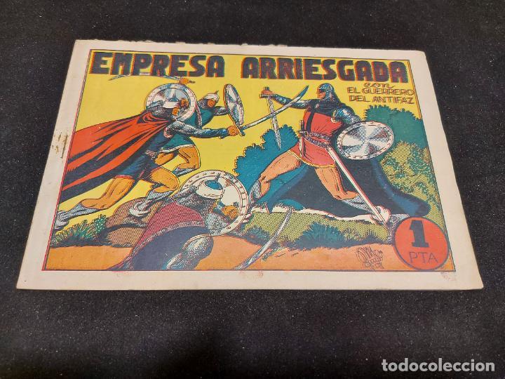 EL GUERRERO DEL ANTIFAZ / 42 / EMPRESA ARRIESGADA / ORIGINAL / USO NORMAL DE LA ÉPOCA. (Tebeos y Comics - Valenciana - Guerrero del Antifaz)