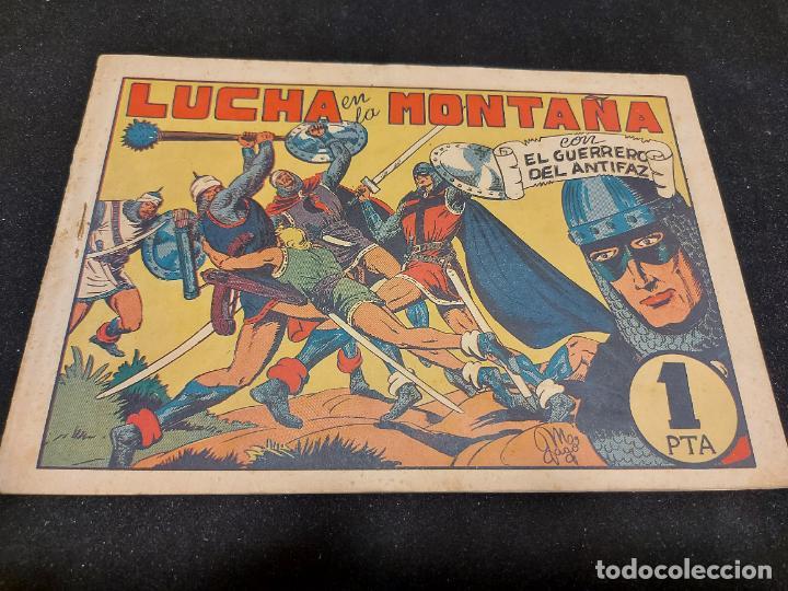 EL GUERRERO DEL ANTIFAZ / 41 / LUCHA EN LA MONTAÑA / ORIGINAL / USO NORMAL DE LA ÉPOCA. (Tebeos y Comics - Valenciana - Guerrero del Antifaz)