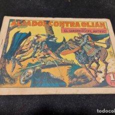 Livros de Banda Desenhada: EL GUERRERO DEL ANTIFAZ / 39 / ALIADOS CONTRA OLIÁN / USO NORMAL DE LA ÉPOCA.. Lote 276189943