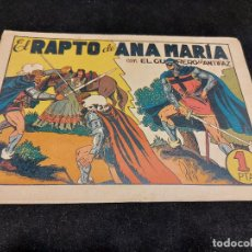 Livros de Banda Desenhada: EL GUERRERO DEL ANTIFAZ / 38 / EL RAPTO DE ANA MARIA / USO NORMAL DE LA ÉPOCA.. Lote 276190548