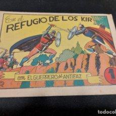 Livros de Banda Desenhada: EL GUERRERO DEL ANTIFAZ / 37 / EN EL REFUGIO DE LOS KIR / USO NORMAL DE LA ÉPOCA.. Lote 276190938