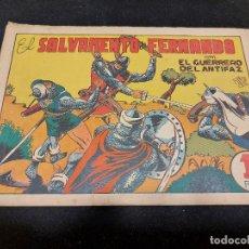 Livros de Banda Desenhada: EL GUERRERO DEL ANTIFAZ / 35 / EL SALVAMENTO DE FERNANDO / USO NORMAL DE LA ÉPOCA.. Lote 276191523