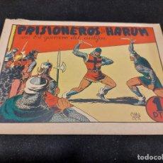 Livros de Banda Desenhada: EL GUERRERO DEL ANTIFAZ / 24 / PRISIONEROS DE HARÚN / USO NORMAL DE LA ÉPOCA.. Lote 276192363