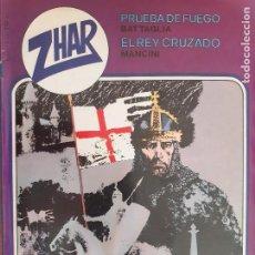 Tebeos: ZHAR Nº 2. BATTAGLIA. MANCINI. WHITE. EDITA VALENCIANA 1983. Lote 276388698