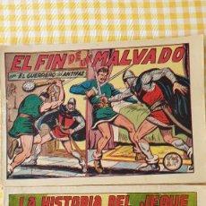 Tebeos: EL FIN DE UN MALVADO Y OTRO. Lote 276485648