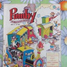 Livros de Banda Desenhada: COMICS PUMBY N.152 EDITORIAL VALENCIANA. Lote 276706948