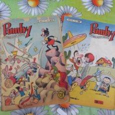 Tebeos: COMICS PUMBY N.270 Y 281 EDITORIAL VALENCIANA. Lote 276708703