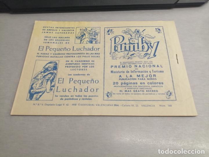 Tebeos: EL GUERRERO DEL ANTIFAZ Nº 568 / VALENCIANA ORIGINAL - Foto 2 - 277062228