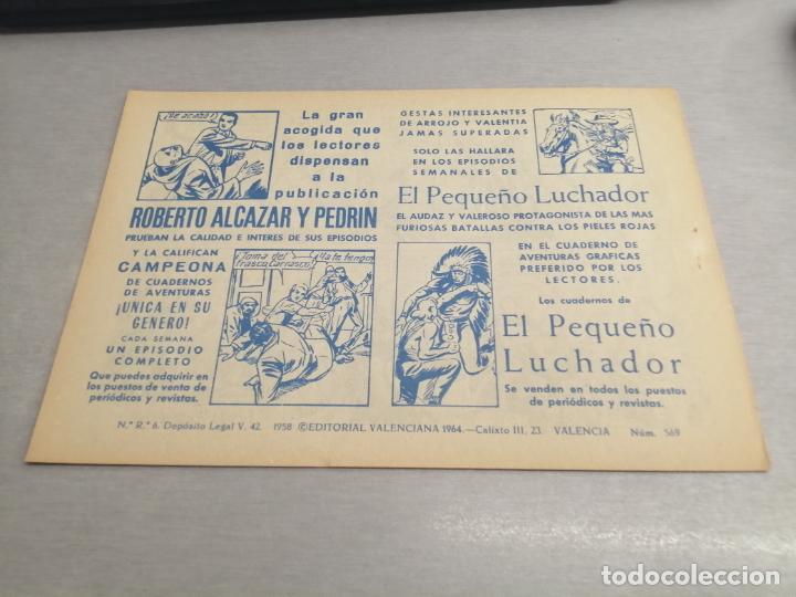 Tebeos: EL GUERRERO DEL ANTIFAZ Nº 569 / VALENCIANA ORIGINAL - Foto 2 - 277062278