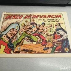 Tebeos: EL GUERRERO DEL ANTIFAZ Nº 579 / VALENCIANA ORIGINAL. Lote 277062868