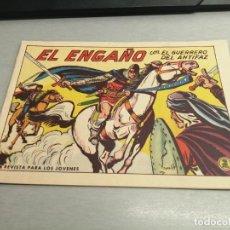 Tebeos: EL GUERRERO DEL ANTIFAZ Nº 580 / VALENCIANA ORIGINAL. Lote 277062878