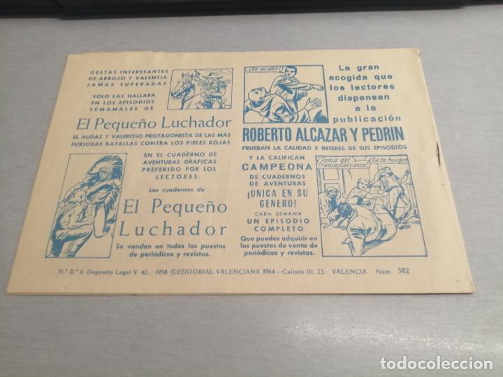 Tebeos: EL GUERRERO DEL ANTIFAZ Nº 582 / VALENCIANA ORIGINAL - Foto 2 - 277062968