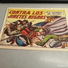 Tebeos: EL GUERRERO DEL ANTIFAZ Nº 582 / VALENCIANA ORIGINAL. Lote 277062968