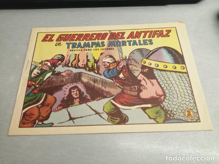 EL GUERRERO DEL ANTIFAZ Nº 587 / VALENCIANA ORIGINAL (Tebeos y Comics - Valenciana - Guerrero del Antifaz)