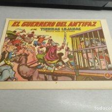 Tebeos: EL GUERRERO DEL ANTIFAZ Nº 594 / VALENCIANA ORIGINAL. Lote 277063468